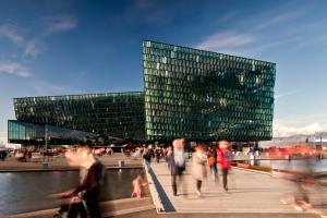 Harpa Concert Hall and Conference Centre in Reykjavik